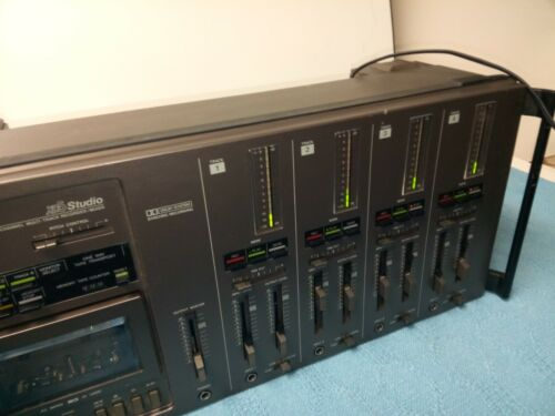 Vintage Clarion XD5 4 Channel Multi-Track Tape Recorder/Mixer Recently Serviced