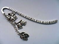 Lovely Handmade Silver Holiday Bookmark With Three Charms - handmade - ebay.co.uk