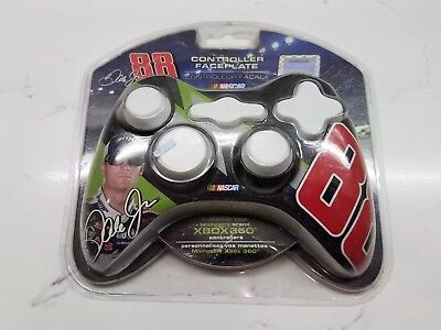 XBOX 360 Microsoft Brand Mad catz Nascar Controller Faceplate Green Dale Jr 88 (Mad Controller Xbox 360)