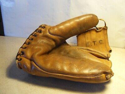 Vintage Lefty Gomez Wilson A2034 Model Baseball Glove NY Yankees RHT