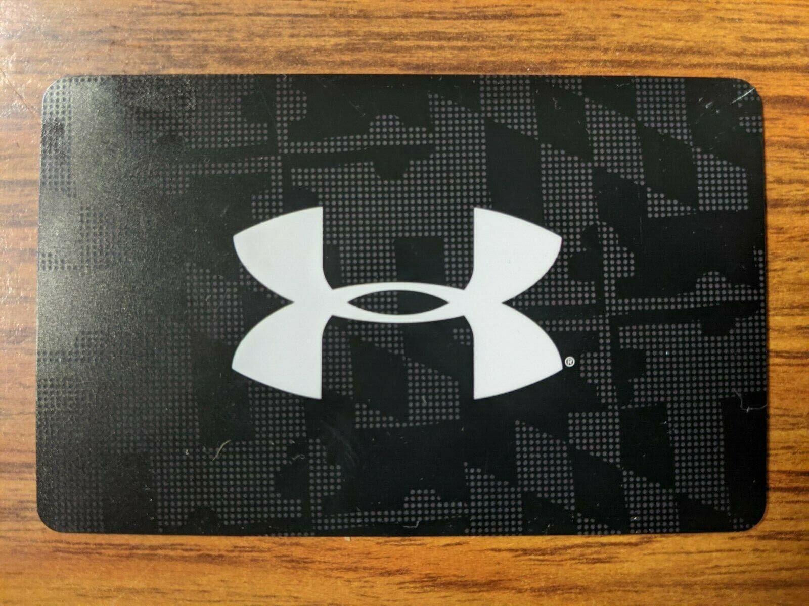 252.00 Under Armour Gift Card Merchandise Credit BALANCE 252.00 - $225.00