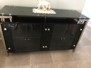Glass buffet- Excellent condition
