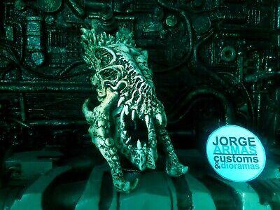 PREDATOR 2 T.REX-LIKE TROPHY WALL BIG SKULL #1 CUSTOM CAST RESIN 1:10 for sale  Mexico