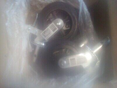 8 Scaffold Caster Wheel Cast Iron Hub Grease Fitting Heavy-duty 750 Lbs. 4 Pcs