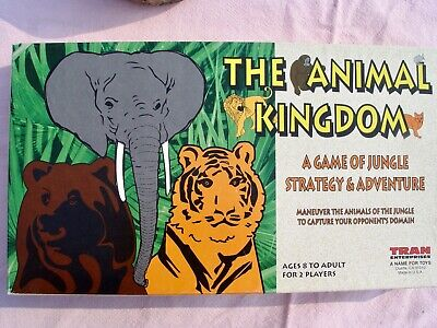 The Animal Kingdom Board Game Jungle Strategy & Adventure 8 to Adult
