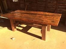 Heavy Handmade Rustic Dinning Table Willala Gunnedah Area Preview