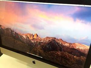 iMac 27 i7 3.4GHz 16GB RAM 2GB GPU 1.12TB Fusion HDD Blazing Fast Nunawading Whitehorse Area Preview