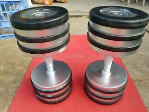 Pair of fixed 40kg dumbells ,80kg all up ,pick up blacktown $200