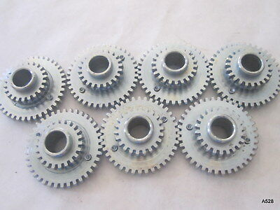7 Printing Press Multilith Drive Gears Inner Form Roller 296w-1676-a