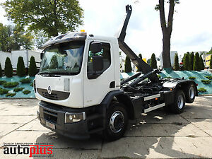 Renault PREMIUM ROLL-OFF TIPPER TEMPOMAT PAYLOAD 16 TON