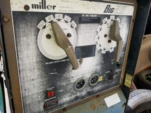 Miller BIG 20 Stick Welder