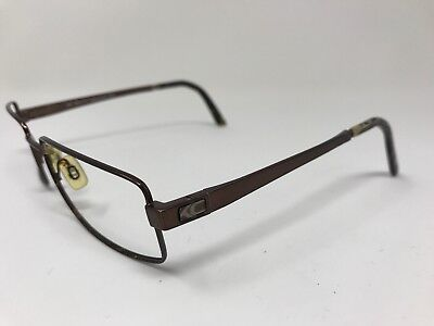Kenneth Cole Eyeglasses Italy KC545-271 54-18-140 REPLACE ARM BANDS Brown GC81