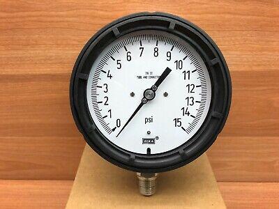 Wika 9834800 15psi 12 Npt 232.34 4.5 Pressure Gauge