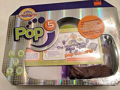 Cranium Pop 5 Party Game Adult, Pop Culture, Music, Fashion, Movies, TV and more