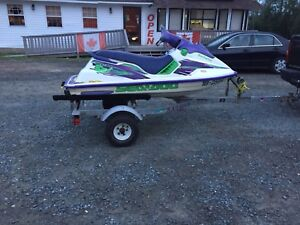 My loss your gain!! 1996 seadoo spi 580 twin with trailer