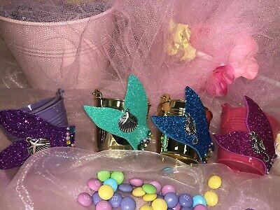 Little Mermaid Beach Party Candy Bucket Birthday Bridal Shower Sweet 15/16; - Little Mermaid Buckets