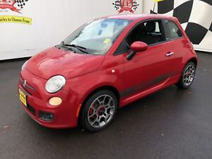 2012 Fiat 500 Sport,, Automatic, Leather, Heated Seats,