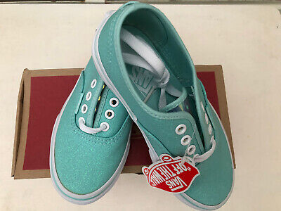 Vans Kids Blue Glitter pumps UK Kids size's uk 11,13,1,2,5
