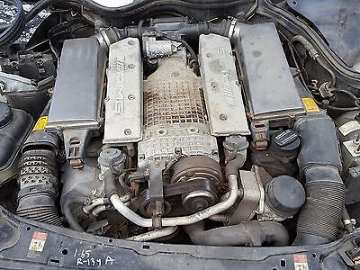 02 03 04 MERCEDES C-CLASS C32 SUPER CHARGED ENGINE W/125K MILES FREE SHIPPING!