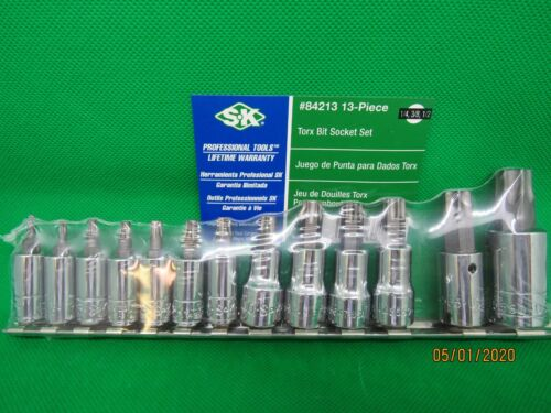 SK 13PC TORX BIT SOCKET SET  #84213  (MADE IN THE USA)