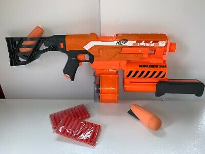 Nerf N-Strike Elite 2-in-1 Demolisher Blaster Rocket Launcher With Drum mag