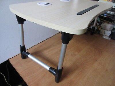 "Tilt Computer Keyboard Sit Stand Up Standing Foldable 9""x20.5x11 Vintage Riser"