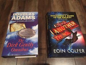Douglas Adams and Eoin Colfer Books