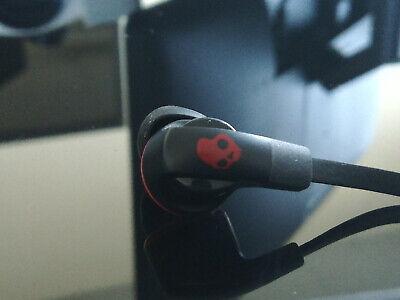 Skullcandy Smokin' Buds 2 Bluetooth Wireless Earbuds with Mic Black / Red Smokin Bud Earbud Headphones