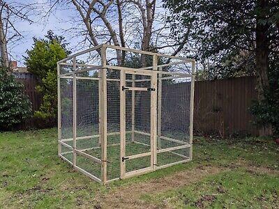 Poultry Panels 6ft x 6ft 19G Walk In Aviary Run Chicken Rabbit Hens