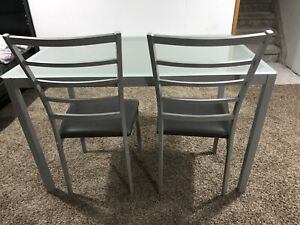 Dining table with 4 chairs