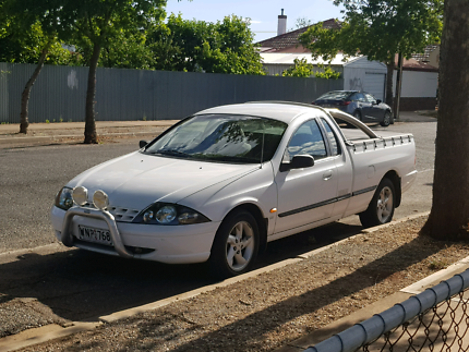 Ford AUII XL Ute - LPG Dedicated