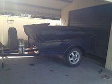 Camper trailer 7x4 Singleton Singleton Area Preview