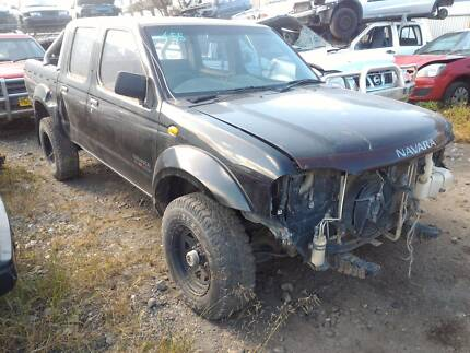 Wrecking 06 Nissan Navara D22 DCab Ute MT 4WD 151129, Parts Only