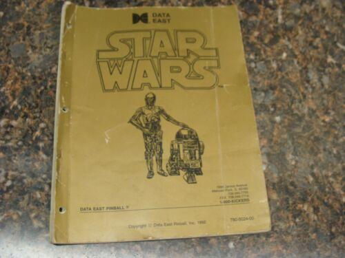Star Wars Pinball Machine Service Manual, Atlanta (736)