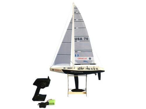 "33"" RC Remote Control 2.4G Sailboat 380 Motor - BMW Oracle"