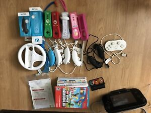 Wii U console and everything you need to have fun in a group.