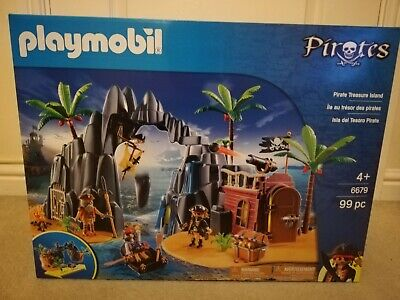 PLAYMOBIL Pirate Island 6679 brand new and sealed