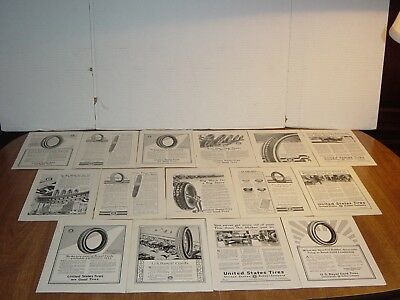 United States Tire Co 23 Pages Vintage National Geographic Print Ads 1916   34