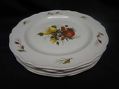 Wedgwood English China - Drury Lane - Set of 5 Dinner Plates