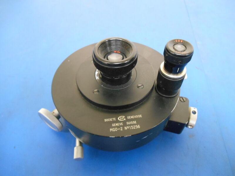 Societe Genevoise MGO-2 Microscope Eyepiece Assembly