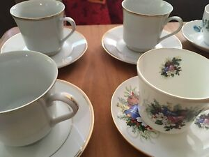 China tea cups and saucers