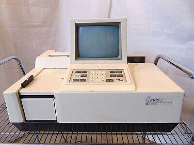 Shimadzu Uv160u Uv-visible Recording Spectrophotometer Cat.no 204-04550-51-s4878