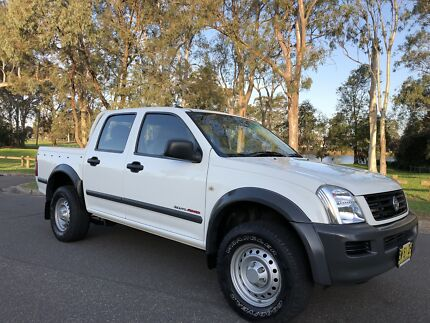 2004 Holden Rodeo Utility LX Dual Cab 4x4 Diesel Turbo White Moorebank Liverpool Area Preview