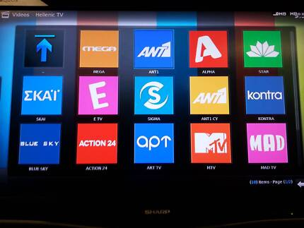 Greek IPTV SmartTV Box with 80+ Channel MEGA ANT1 SKAI ALPHA STAR Bankstown Bankstown Area Preview