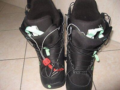 Snowboard Boots, BURTON, Gr. 40,5, schwarz m. Mint Burton Mint Snowboard Boots