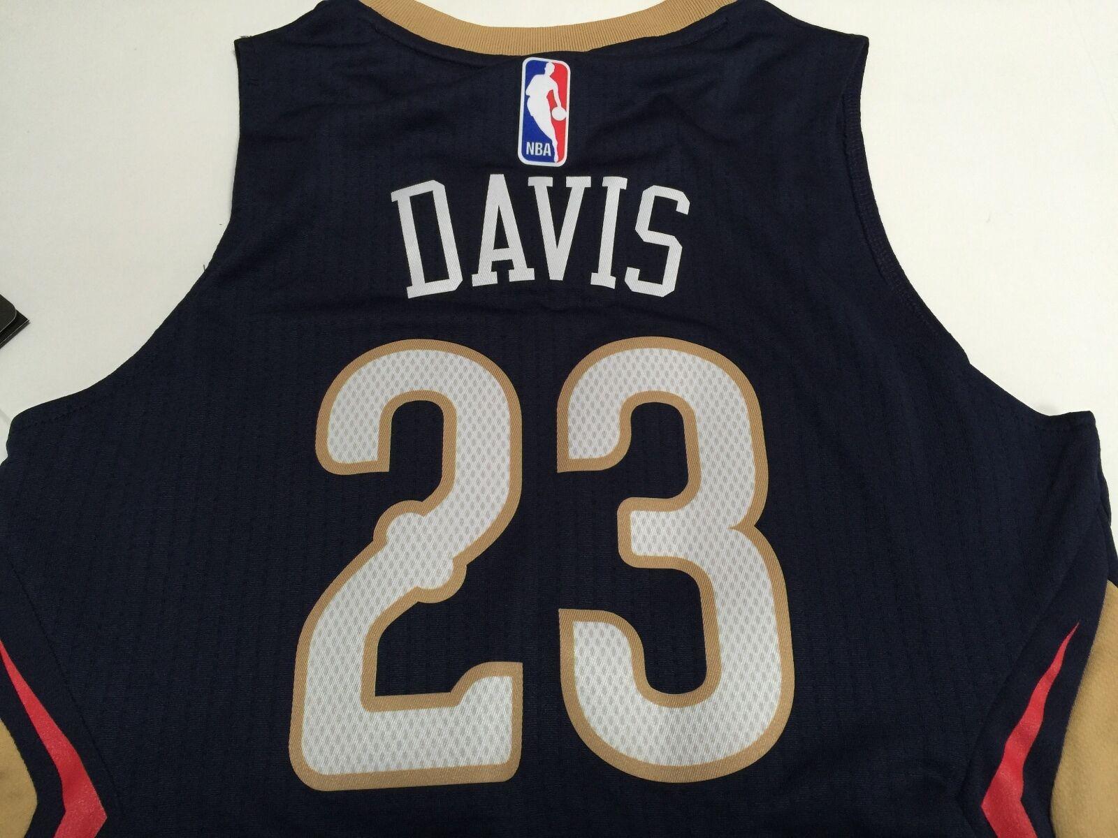 Adidas Anthony Davis New Orleans Pelicans 23 Swingman NBA Youth +2