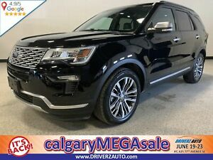 2018 Ford Explorer Platinum CLEAN CARFAX, LOADED LOADED LOADED .