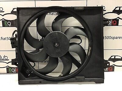 Fiat 500 1.2 Radiator Cooling Fan Also Fits Current Ford Ka (51820659) With A/C