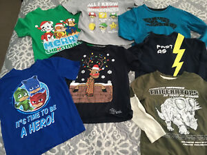 Boys size 6 shirts