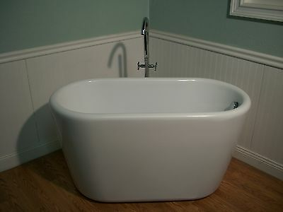 "51"" Deep Soaking Bathtub"